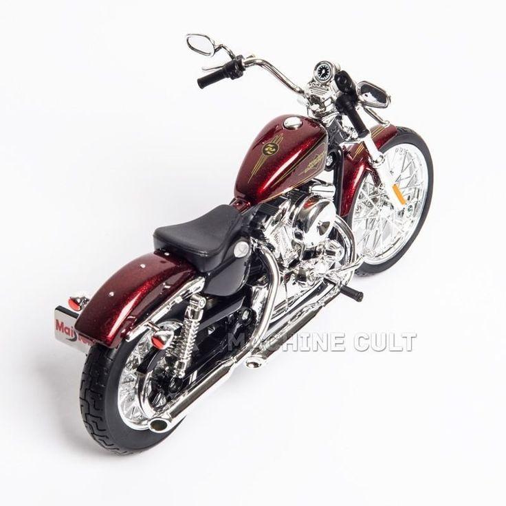 Miniatura Harley-Davidson 2012 XL 1200V Seventy Two - Maisto 1:12 - Machine Cult | Loja online especializada em camisetas, miniaturas, quadros, placas e decoração temática de carros, motos e bikes