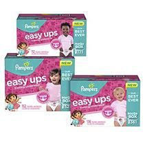 Pampers Easy Ups Training Pants for Girls, Size