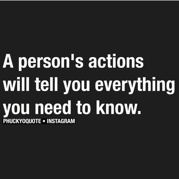 Oh actions....they say so much.  People think they are so clever and reality they are quite transparent. Your actions speak louder than anything your lips speak. We ALL see eventually.