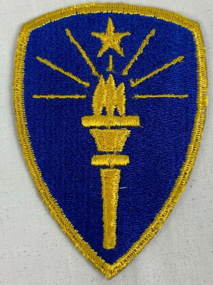 Vintage US Army Indiana National Guard Shoulder Patch