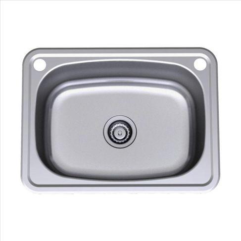 Laundry tub: Radiant 45L Stainless Steel Flushline Tub