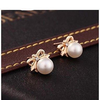 EUR € 1.83 - Big Shining parel strik oorbellen Fashion Personality, Gratis Verzending voor alle Gadgets!