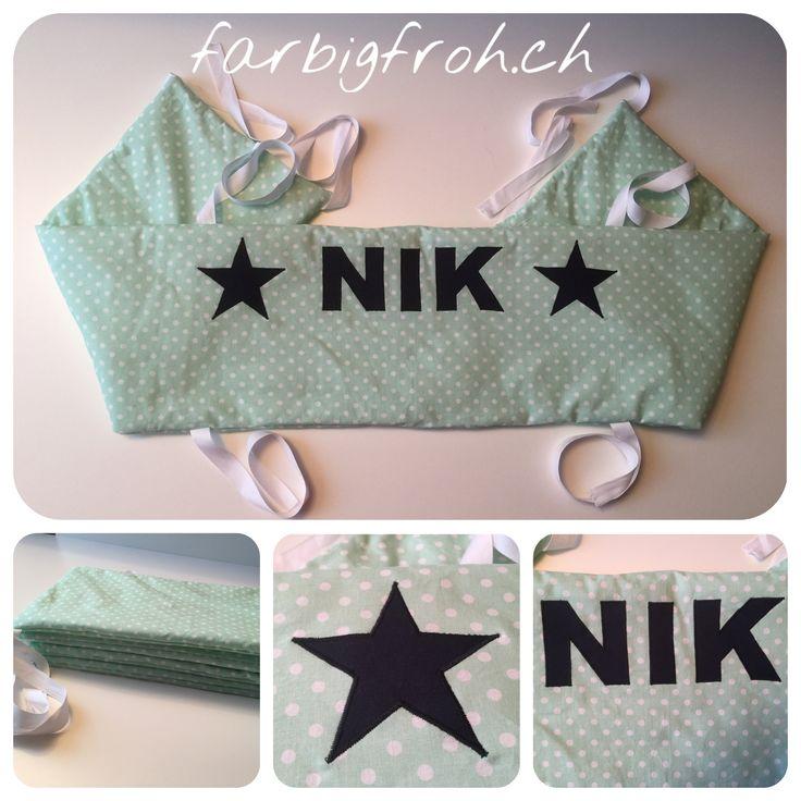 www.farbigfroh.ch Bettumrandung Nestchen