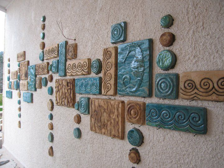 Wall Decor With Clay : Best clay wall art ideas on ceramic