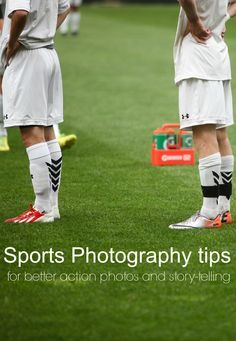 Sports Photography tips to help take better photos of your kids playing sports. Great ideas for better action photos and how to capture the full story of their sports activities.