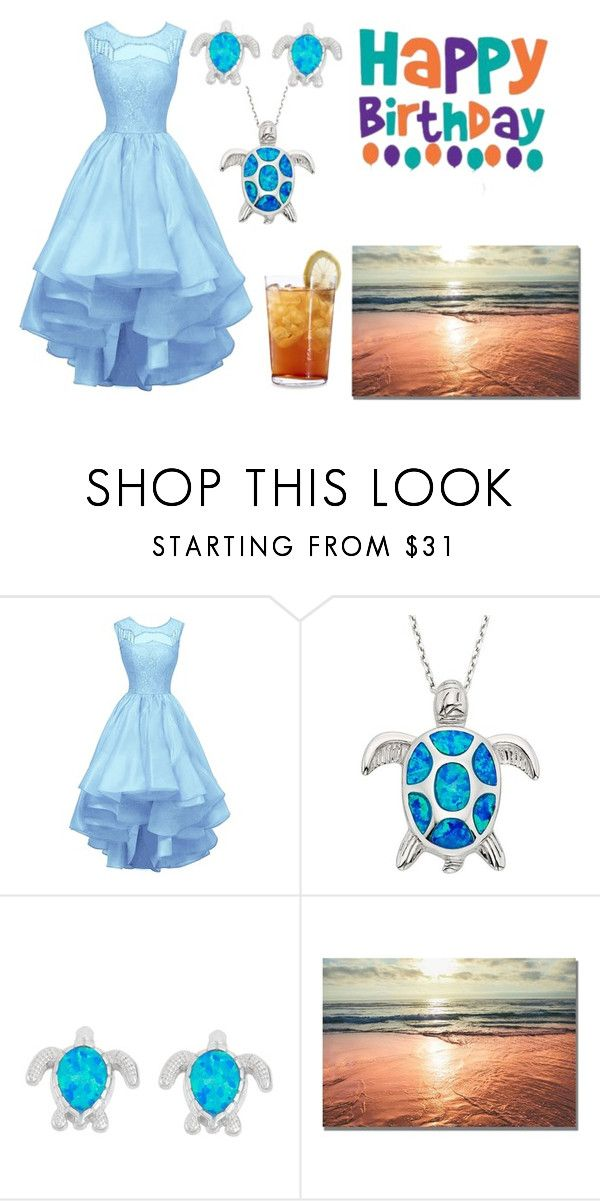 """Beach Party Outfit"" by mleabates21 on Polyvore featuring La Preciosa and Schott Zwiesel"