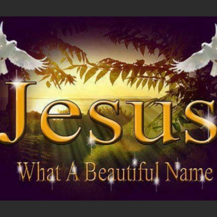 Jesus! The most powerful and beautiful name in Heaven and on earth ❤️