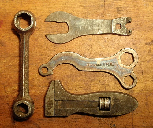 Bicycle tools by spiers65, via Flickr