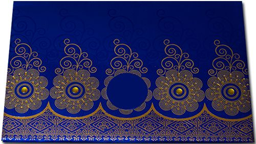 A amazing shimmer finish imported paper metallic padded card has cute vibrant color and design in front with the same die-cut ring paste up in center, carrying cool contrastive envelope and inserts..its really pretty..!
