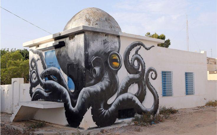 Djerba: Wo ein ganzes Dorf zum Graffiti-Kunstwerk wurde - Gesellschaft - derStandard.at › Panorama