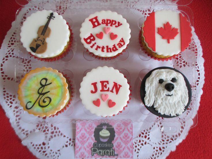 cupcakes cumpleaños personalizado