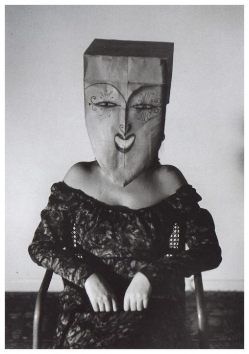 The Unknown Comic's mother.: Inge Morath, The Artists, Paper Bags, Photographers Inge, Masks Saul, Saul Steinberg, Bags Lady, Photography, Masquerades