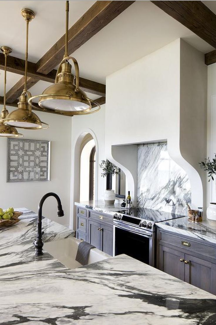 - 5 Kitchen Trends You Should Know In 2018! White Marble Kitchen