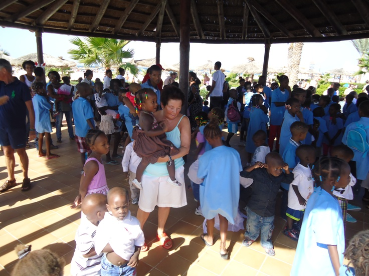 The Sal Rei Orphanage, Riu Karamboa, Boa Vista, Cape Verde, December 2012