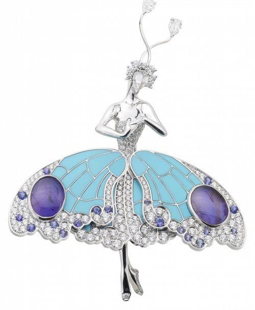 Ballerina. Van Cleef & Arpels jewelry http://www.molu.it/?p=1828