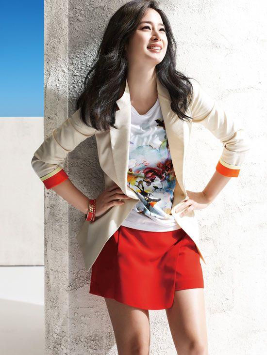 Kim Tae-hee // Isabey Summer 2013