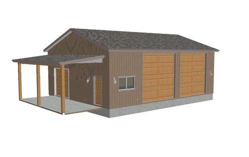 1000 ideas about rv garage on pinterest rv garage plans for Garage lean to plans