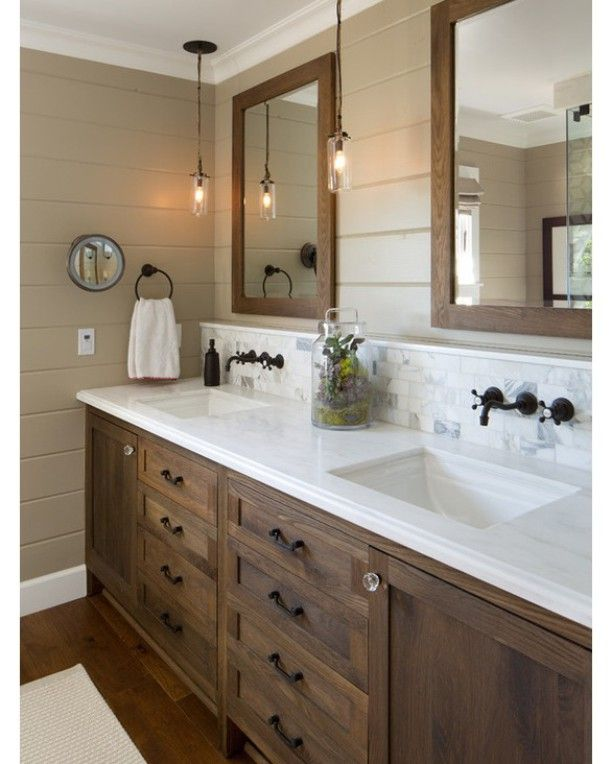 Bathroom Decorating Ideas With Cherry Cabinets best 25+ dark wood bathroom ideas only on pinterest | dark