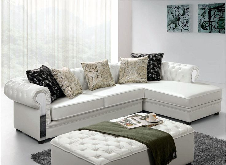 Modern Leather Sectional Furniture. 33 best Everything Modern Sectional Sofas images on Pinterest