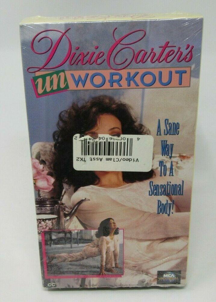 Dixie Carter Unworkout Vhs Video Non Aerobic No Stress Stretch Strength Yoga Strength Yoga Aerobics Dixie Carter
