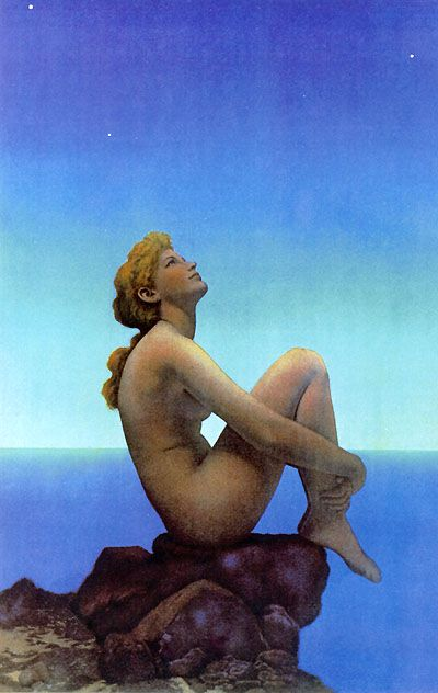 """""""Stars"""" by Maxfield Parrish (one of my favorite pieces ever)"""