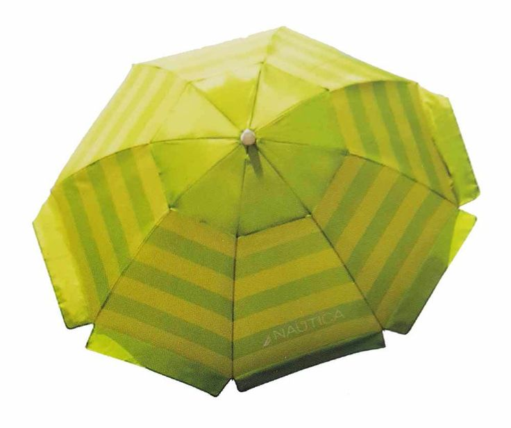 Nautica 7 Foof Beach Umbrella W Power Twist Base