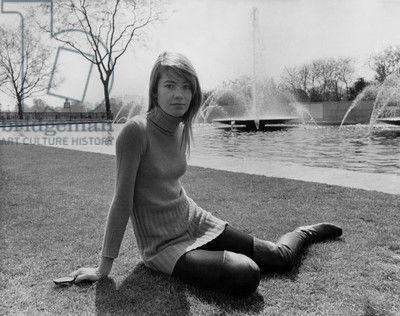 Francoise Hardy en 1968