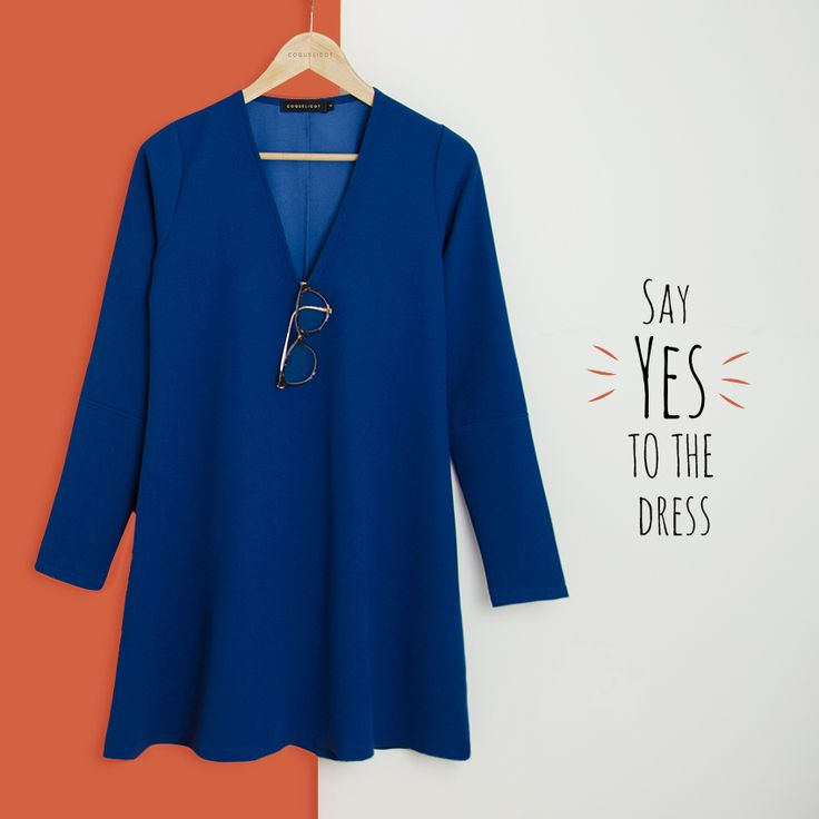 Say YES to the dress 🙌🏼 💙 COQUELICOT