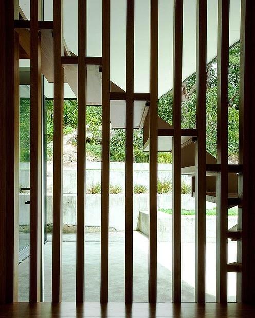 Open house... Architect Sam Marshall's sympathetic design for a geometric Castlecrag home.