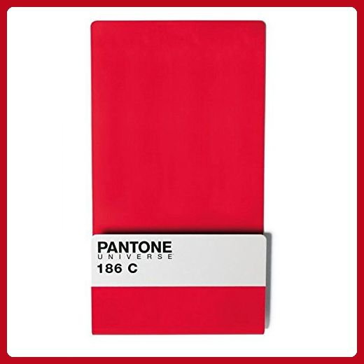 Pantone Metal Wallstore Ruby Red 186C - Fun stuff and gift ideas (*Amazon Partner-Link)