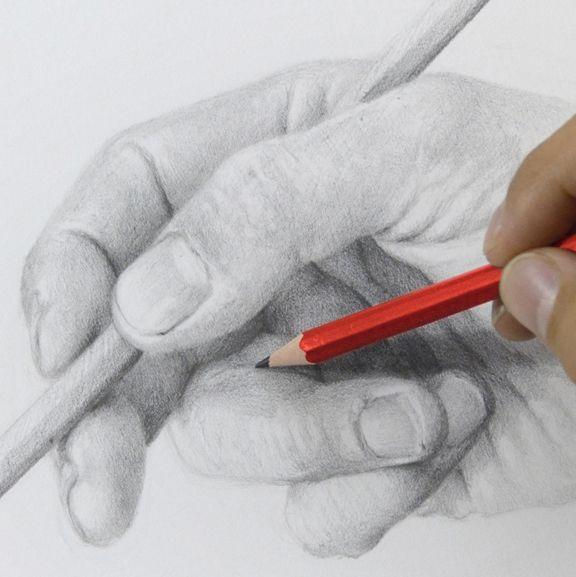#Aprende a #dibujar #manos Curso de dibujo #online. Informes aquí: ow.ly/OeA1w