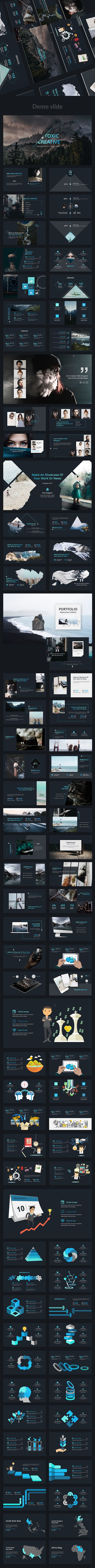 Toxic V2 Creative Powerpoint Template