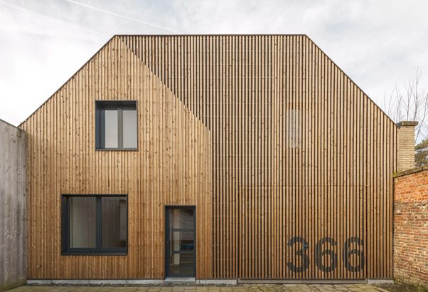 simon vermote architectuur - Verbouwing Woning S+M Gent