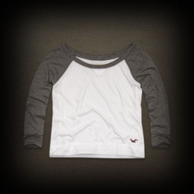 ホリスター River レディース Tシャツ Hollister La Piedra Tee ニット Tシャツ-アバクロ 通販 ショップ-【I.T.SHOP】 #ITShop