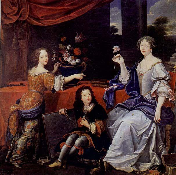 Madame de la Vallière, maîtresse du roi Louis XIV