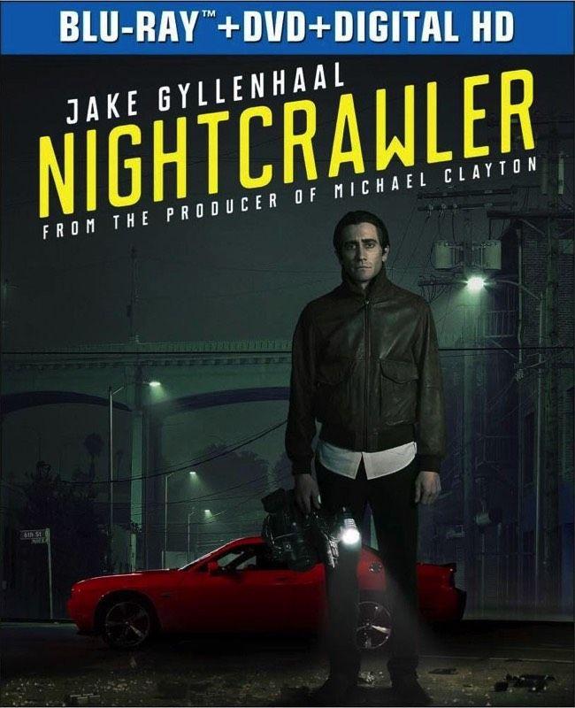 NightCrawler..Ukens Blu-ray,, Jake Gyllenhaal,Rene Russo