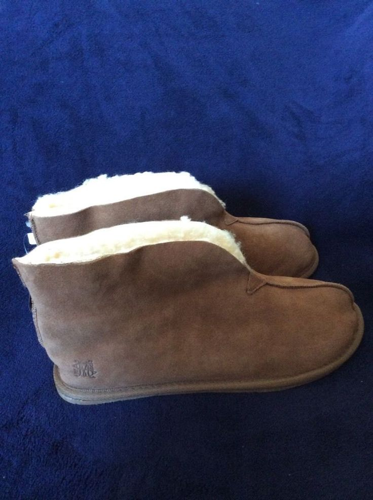 M&S Man REAL SHEARLING FreshFeet with Anti-Bacterial SILVER SLIPPERS UK11BNWT | eBay