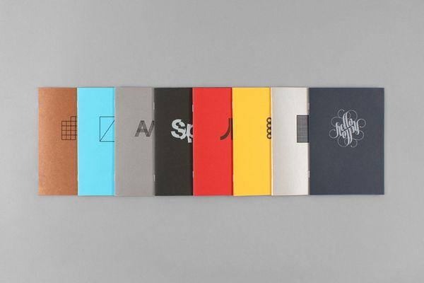 Selected Work Booklets |  ersonal Identity by John Barton, via Behance