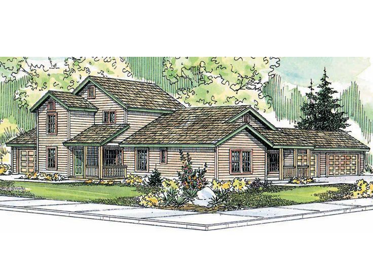 Multi family house plan 051m 0004 future home ideas for Multi family house plans