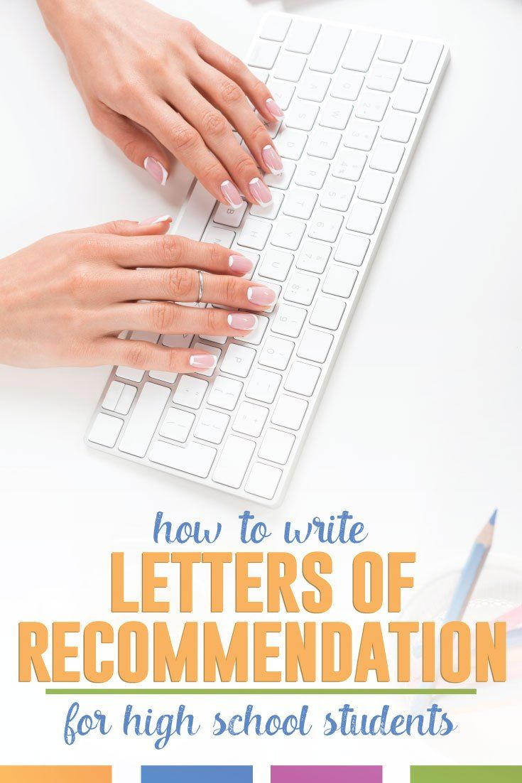 Writing letters of recommendation for high school students can be a lengthy process. Here is how to break it down.