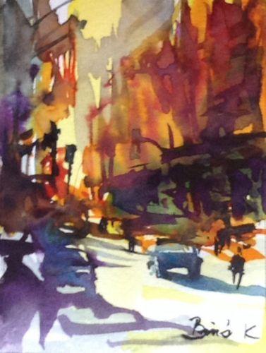 Konrad Biro art  watercolor