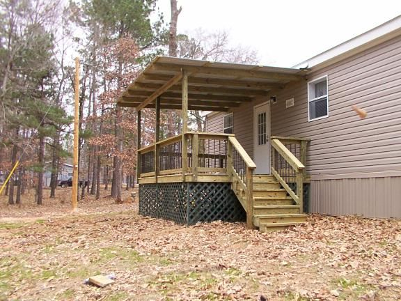 1000+ Ideas About Mobile Home Porch On Pinterest