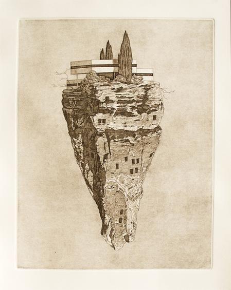 'Precipice' by Tristram Lansdowne http://tristramlansdowne.com/2012-3/