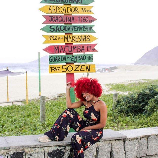 Ela é carioca...