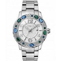 VOGUE Jaipur Crystals Stainless Steel Bracelet 87023.1