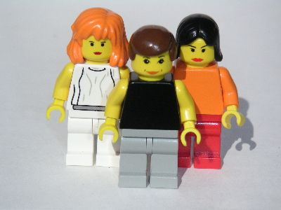 sleater-kinney legos. my children will have these and we will have a sing along of rage.
