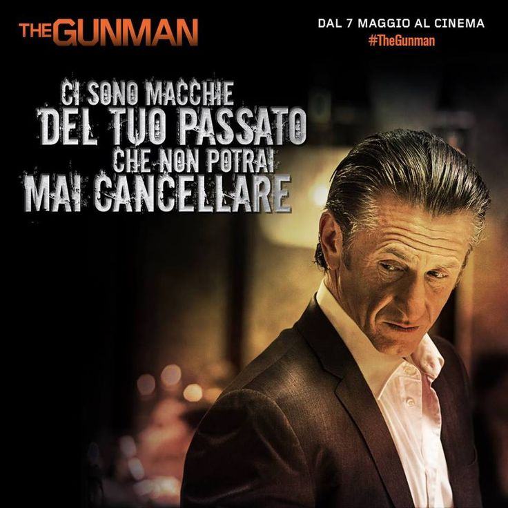 Per quanto si sforzi di cancellarlo, il passato lo ossessiona. #SeanPenn è #TheGunman. Al cinema dal 7 maggio.