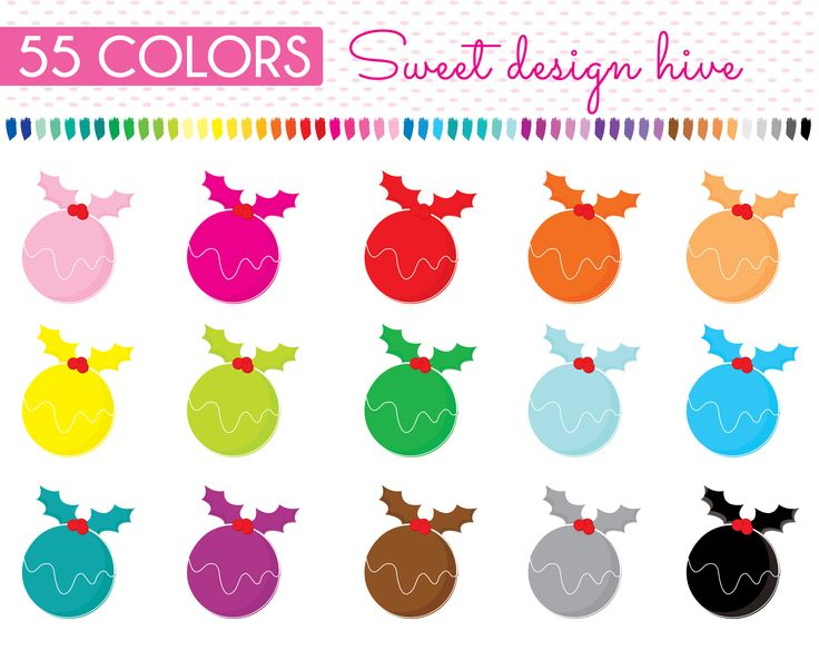 Christmas pudding Clipart, xmas pudding Clipart, Planner Stickers, scrapbooking, Commercial Use, PL0050 by Sweetdesignhive on Etsy
