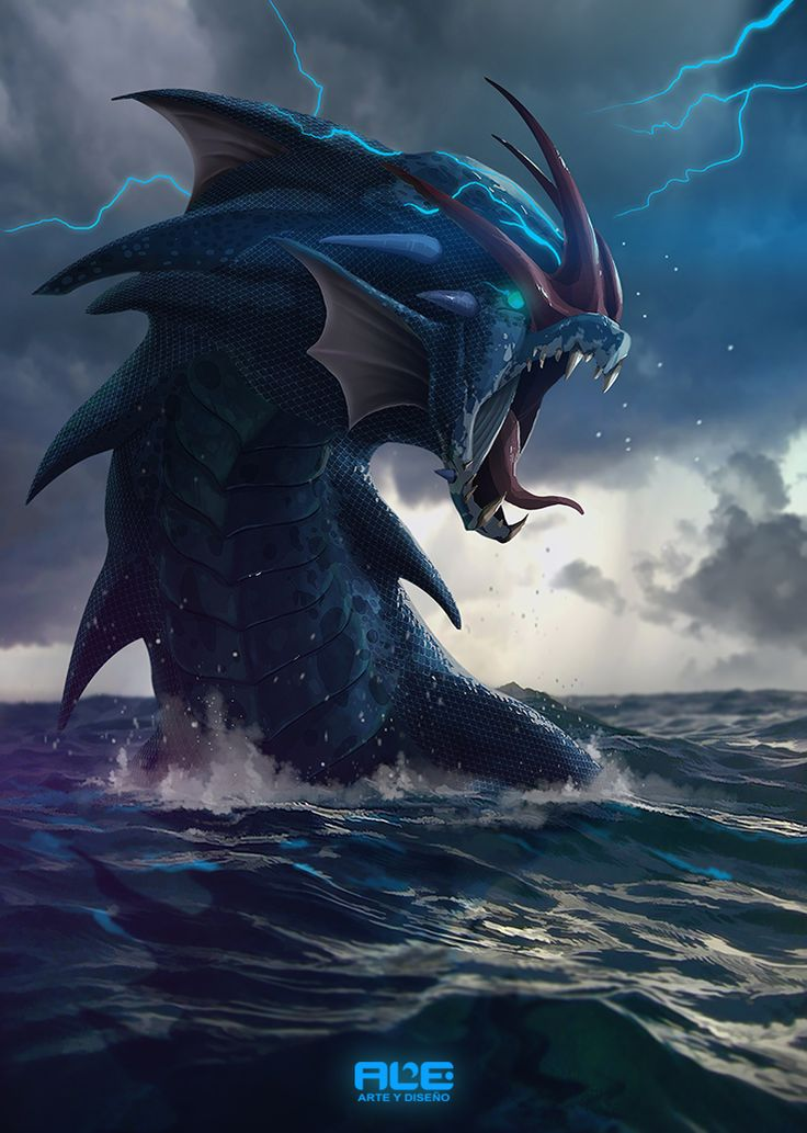 Gyarados (Realistic Version) by DanteFitts on DeviantArt