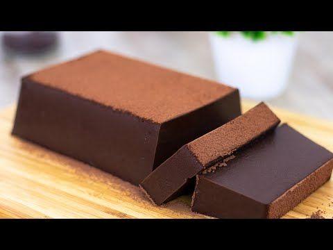 Resep Puding Brownies Lembut Dan Nyoklat Banget Simpel Dan Anti Gagal Asmr Cooking Youtube Puding Puding Coklat Resep